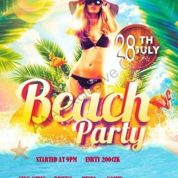 BEACH SUMMER PARTY 28.07.2017 - foto č. 1