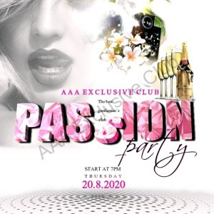 Passion Hot party 20.8.2020